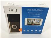RING VIDEO DOORBELL SMART 720P BRUSHED BROWN COLOR